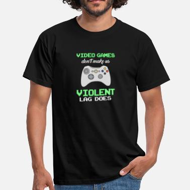 Video Video Games - Men's T-Shirt