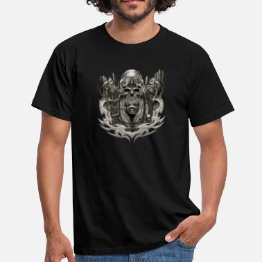 Scuba Diving Taucher Shirt Dive SKULL sep - Männer T-Shirt