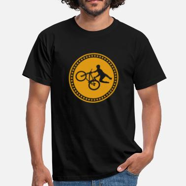 Slopestyle Cykel Freeride Gave Slopestyle - Herre-T-shirt