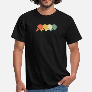 70s Style Ping-pong 70s style - Men's T-Shirt