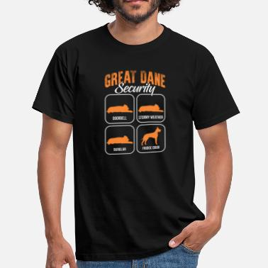 Great Dane Great Dane - Mannen T-shirt