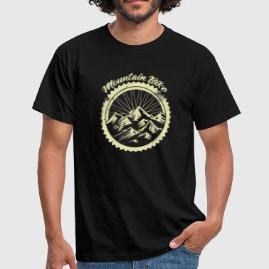 Dirt Mountain Bike Mountain bike bike downhill dirt terrain - Men's T-Shirt