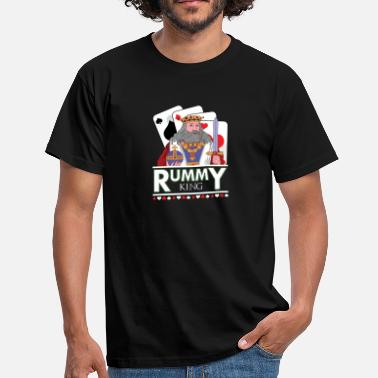 Deck Of Cards Rummy King Card Deck - Men's T-Shirt