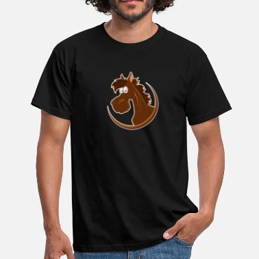 Pony Girl pony - Men's T-Shirt