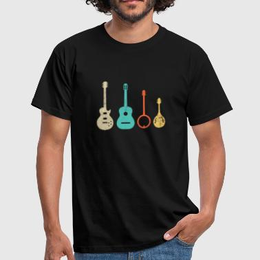 Bluegrass Music - Country America Banjo - T-shirt Homme