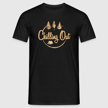Chilling Out Camping - Men's T-Shirt