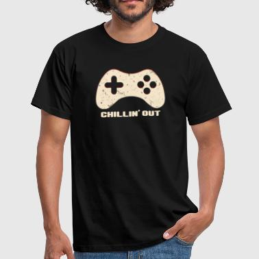 Chilling Out Gamepad - Mannen T-shirt