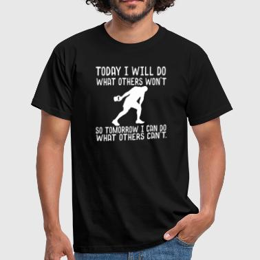 Sport Motivation - Männer T-Shirt
