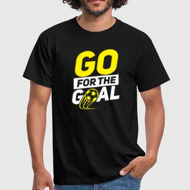 Penalty Kick Soccer Goal game Sport Playfield Penalty Shot - Men's T-Shirt