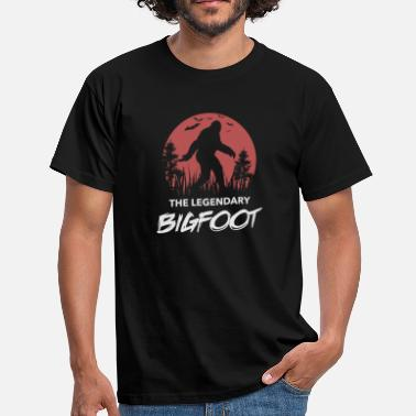 Legendarisk Den legendariska BigFoot - T-shirt herr