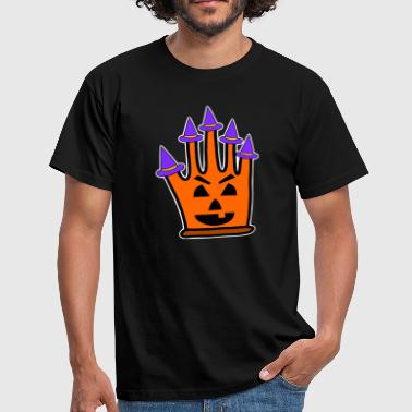 Comic Witch Witchcraft Glove Witch Gift Idea Halloween Costume - Men's T-Shirt