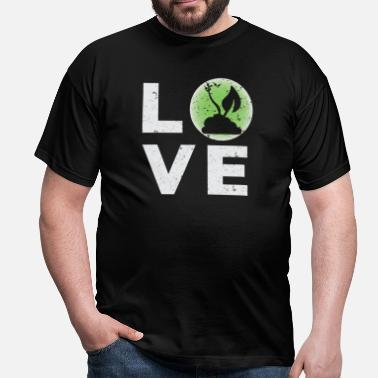 I Love New York Vegan Love I Vegetarian Shit Broccoli Veggie - Camiseta hombre
