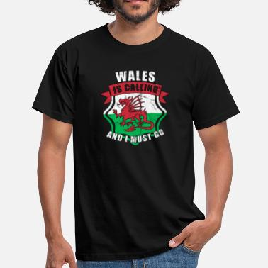 Wales Rugby Wales - Men's T-Shirt