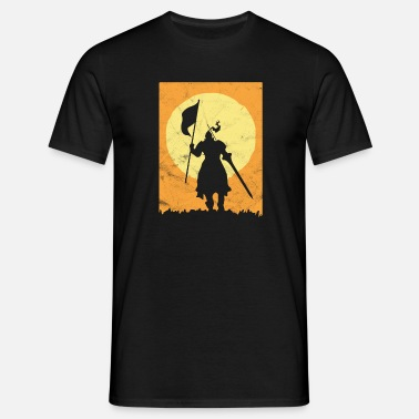 Dragon Age Knight gift middle age dragon son child - Men's T-Shirt