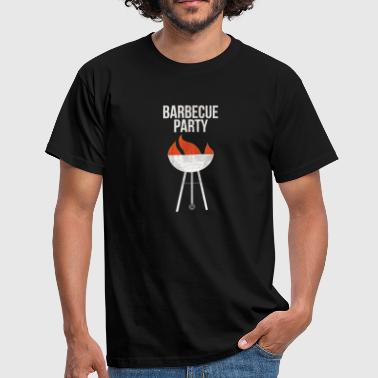 Sanglier Barbecue Party I Viande BBQ Steak Bratwurst Grill - T-shirt Homme