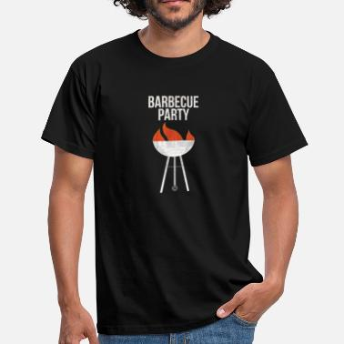 Cochonne Barbecue Party I Viande BBQ Steak Bratwurst Grill - T-shirt Homme