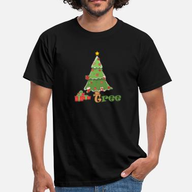 Grippe Under Christmas Tree - Männer T-Shirt