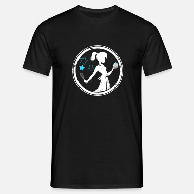 Flour Cupcake fairy confectioner gift woman - Men's T-Shirt