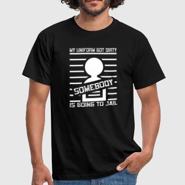Cops Police UNIFORM - Männer T-Shirt