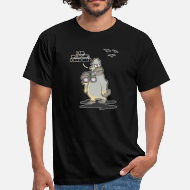 Ornitolog Voyeur Bigfoot Bird Birds Yeti Ornitolog - T-shirt herr