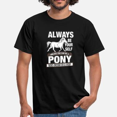 Horseriding pony - Men's T-Shirt