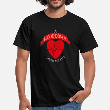 Donation Blood donation - Men's T-Shirt