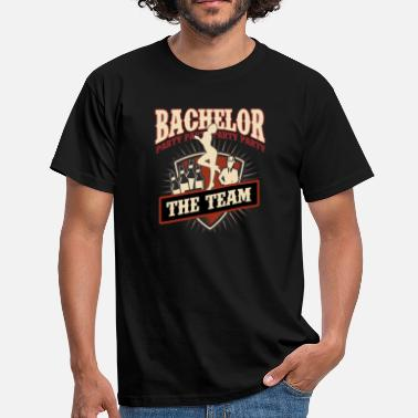 Bachelor Party Bachelor Party Shirt for Team.png - Men's T-Shirt