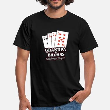 Cribbage Cribbage T Shirt Gave til Cribbage Card Players - Herre-T-shirt