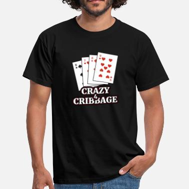 Cribbage Cribbage T Shirt Gift for Cribbage Card Players - Men's T-Shirt