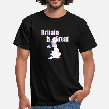 Great Britain Britain Is Great - Great Britain - Men's T-Shirt