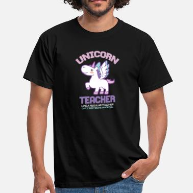 Uniform Unicorn Lärare - T-shirt herr