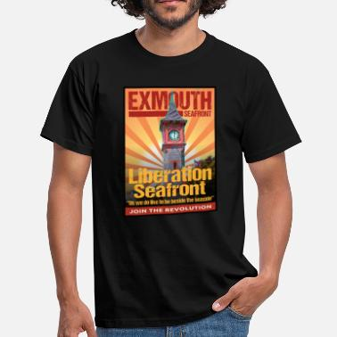 Exmouth ETSS_ClockTower_GCv1 - Men's T-Shirt