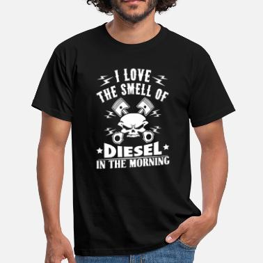 Piston Love the smell of diesel in the morning - car - Men's T-Shirt