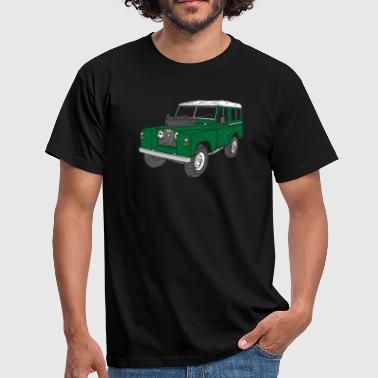 Landy Land Rover Defender Series Jeep - Mannen T-shirt