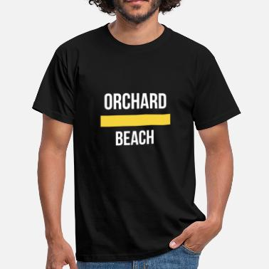 Orchard Orchard Beach New York Orchard Beach. - Men's T-Shirt