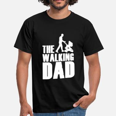 Walking The Walking Dad - Männer T-Shirt