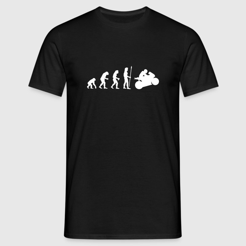 evolution_motorbike1 - Men's T-Shirt