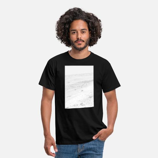 Sand T-Shirts - Sea and sand - Men's T-Shirt black