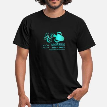 Aquarius Libra Aquarius - Men's T-Shirt