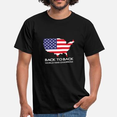 Back To Back World War Champions Back to back world was champions - Men's T-Shirt