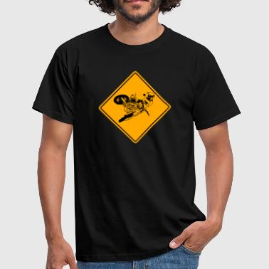 Mxgp Moto Cross Racing Road Sign - Men's T-Shirt