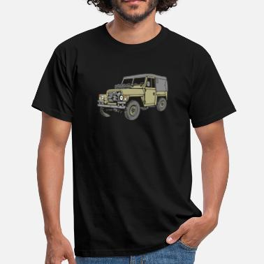 Serie Land Rover Lightweight Light Weight 4x4 Offroad - Männer T-Shirt