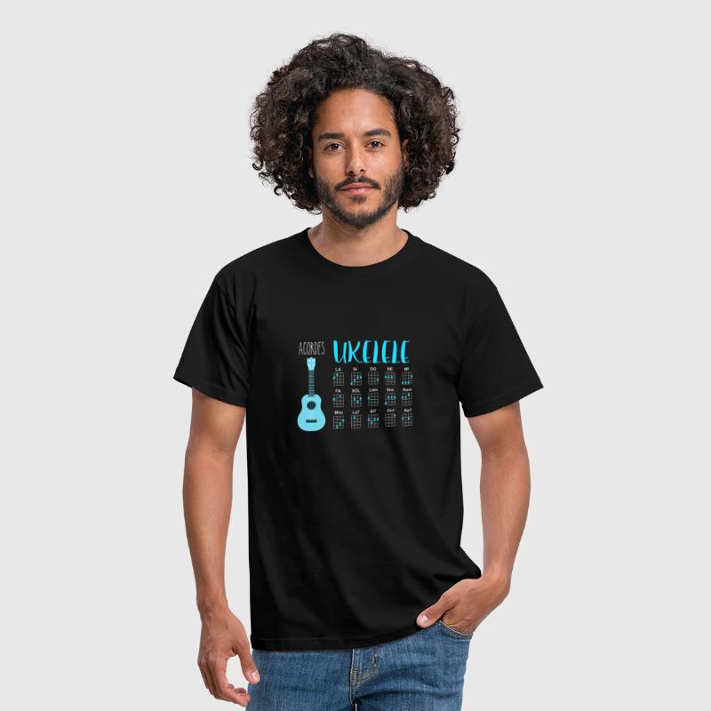 UKULELE chords - Men's T-Shirt