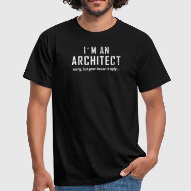 Architecture Funny Funny Architect Ugly House Architecture Student - Men's T-Shirt