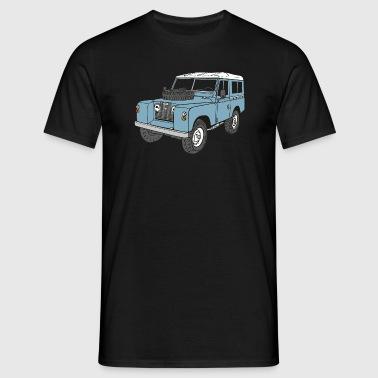 Landy Land Rover Series2a 4x4 Off-Road - Maglietta da uomo