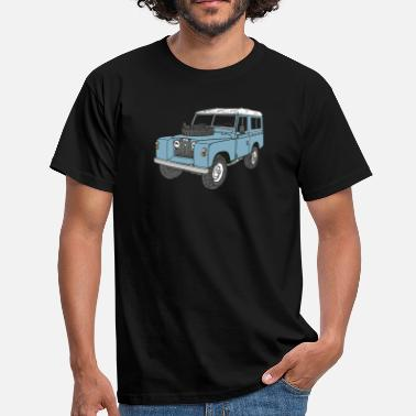 Land Rover Defender Landy Land Rover Series2a 4x4 Off-Road - Mannen T-shirt