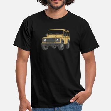 Tdi 110 Defender lybian Sand 4x4 - Men's T-Shirt