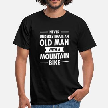 Mountain Bike Cycling Old Man - Mountain Bike - Camiseta hombre