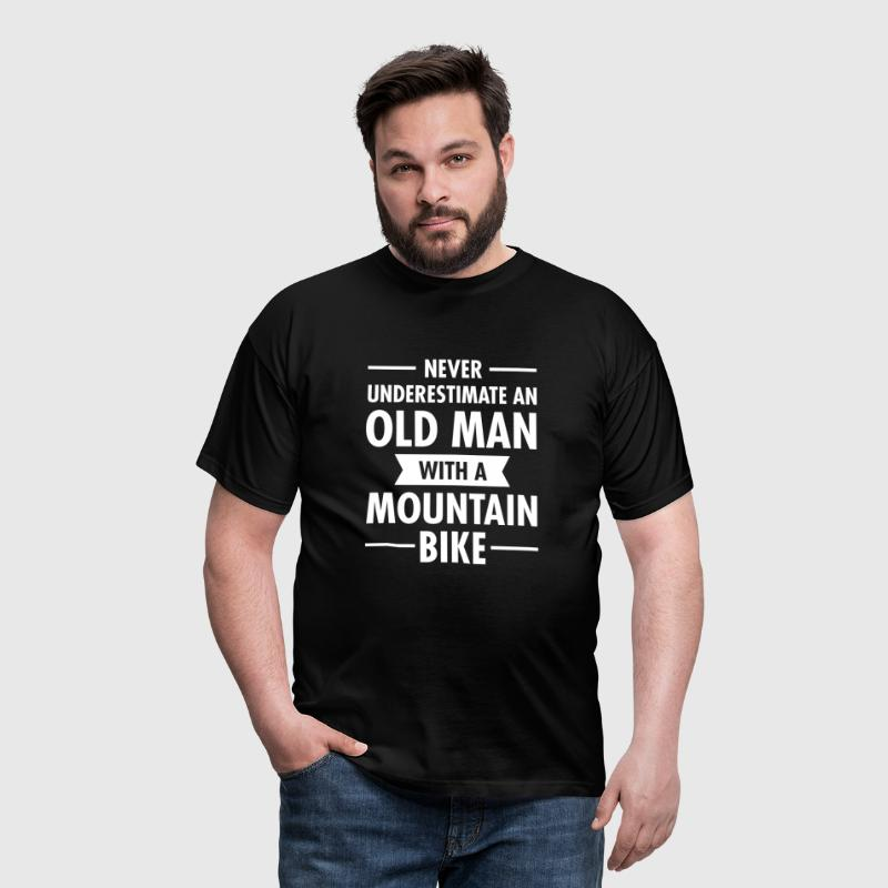 Old Man - Mountain Bike - Herre-T-shirt