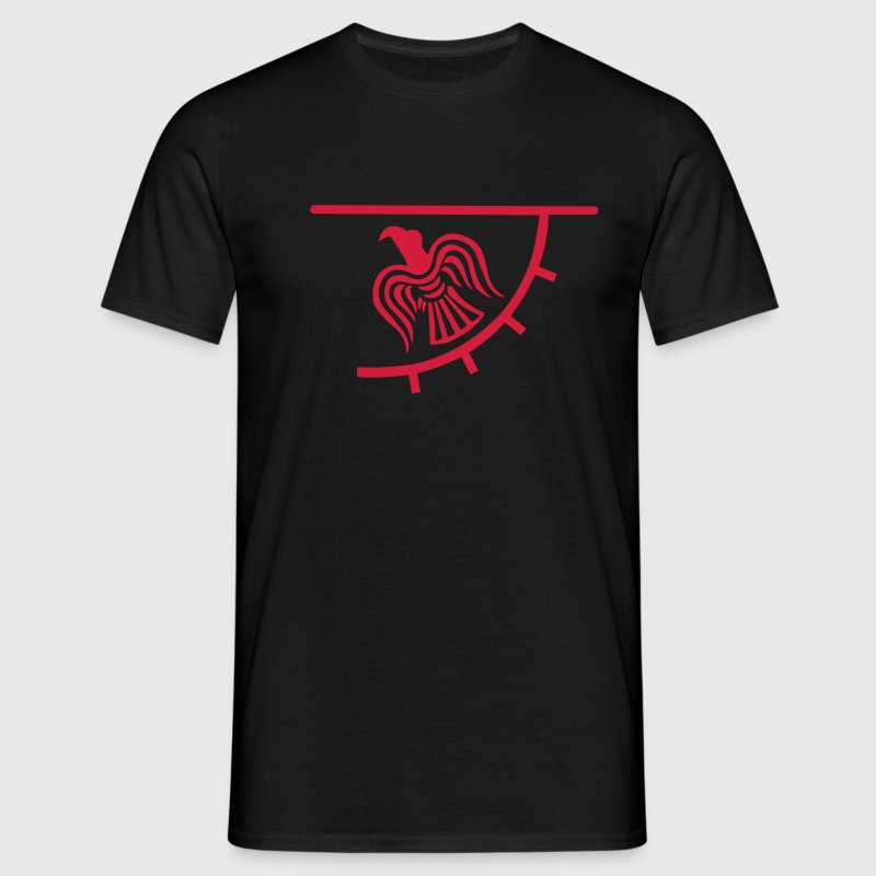 Viking Raven Banner - Men's T-Shirt